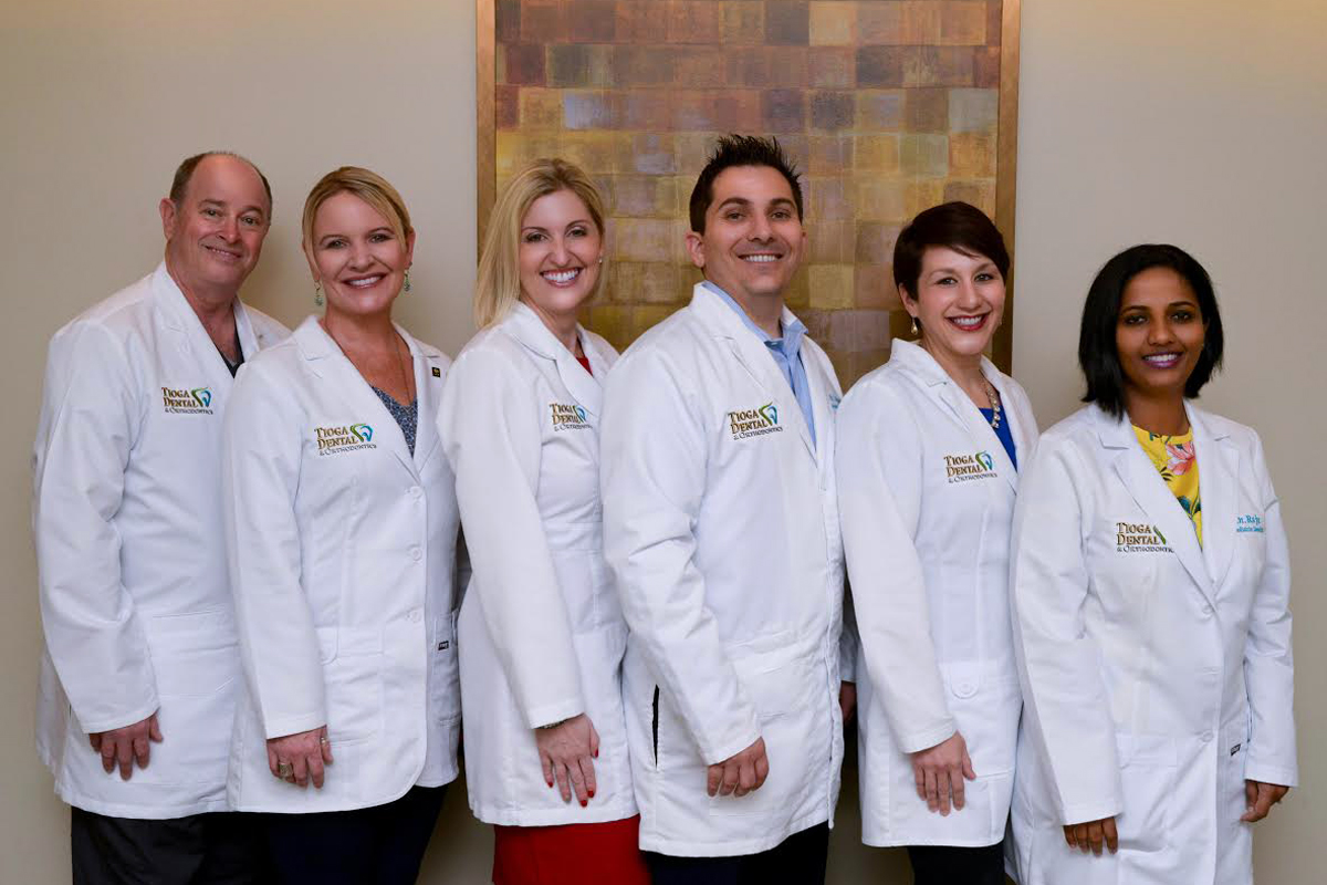 Tioga Dental & Orthodontics Team Photo